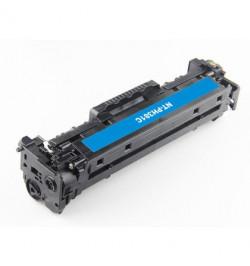 Toner 312A HP Compatível CF381A azul