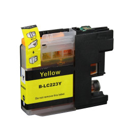 Tinteiro Brother Compatível LC221 / LC223 XL (V2) Amarelo