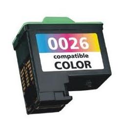 Tinteiro Lexmark Compatível Nº 26 / Nº 27 tricolor