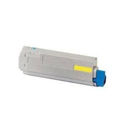 Toner OKI C860 Amarelo (44059209) Compatível