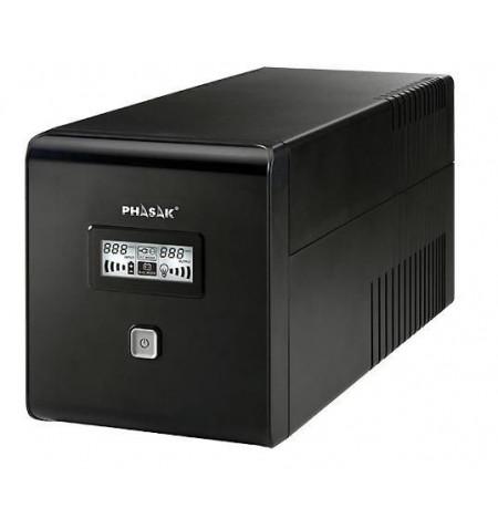 UPS Phasak 1000 VA LCD USB + RJ–45 - PH 9410 - Levante já em loja