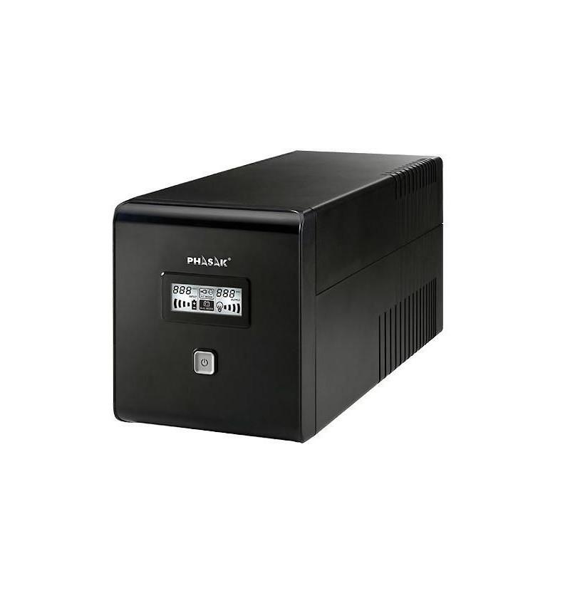 Phasak 1000 VA LCD USB + RJ–45 - PH 9410