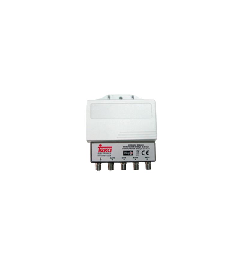 COMUTADOR DISEQC 2.0 - 3X1 + TER. TEKA - 290856