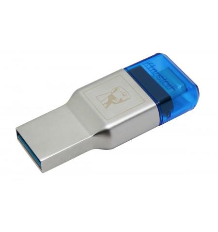 MobileLite DUO 3C USB3.1+TypeC microSDHC