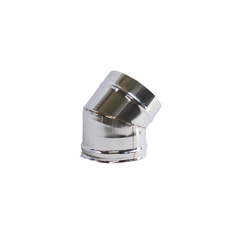 CURVA INOX 45º PORTOFLEX 120