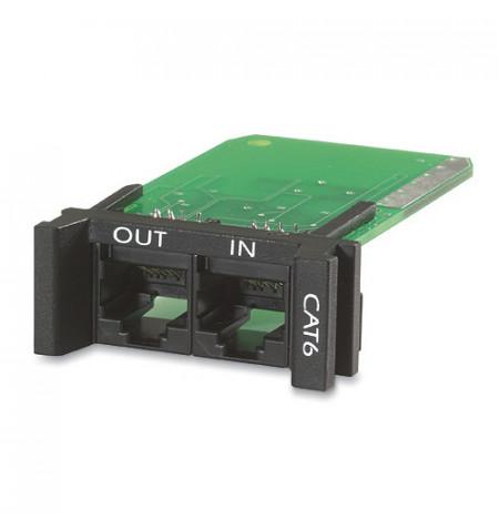 Replaceable, Rackmount, 1u, CAT 6 Network Surge Protection Module   (PNETR6)