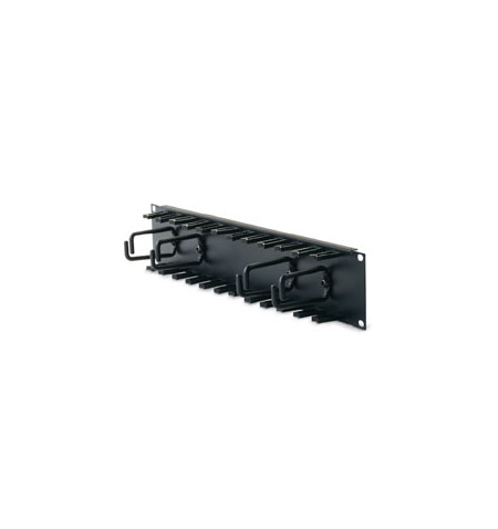 APC 2U Patch Cord Organizer Black - AR8427A