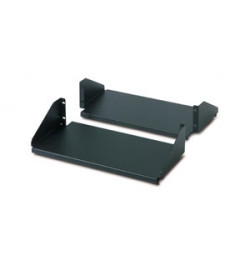 APC Double Sided Fixed Shelf for 2-Post Rack 250 lbs Black - AR8422