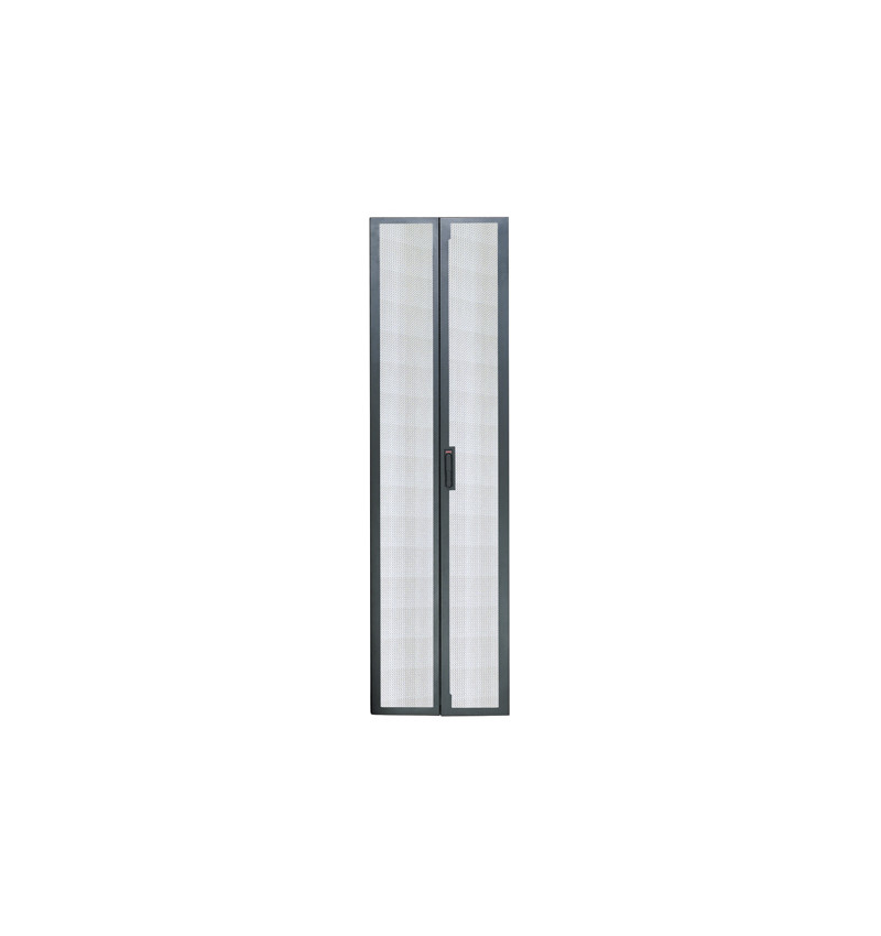 APC NetShelter VX-VS 42U Split Rear Doors 600mm wide Black - AR8362BLK