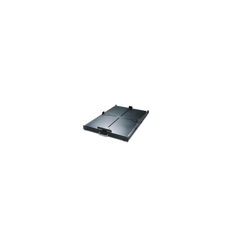 APC Sliding Shelf 200lbs/91kg Black - AR8128BLK