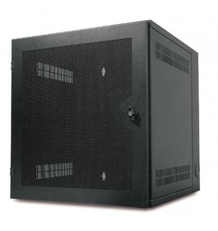 APC NetShelter WX Wall-Mount Enclosure 13U Vented Door Black (AR100HD)