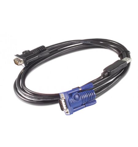Cabo APC KVM USB 7.6Mts - AP5261