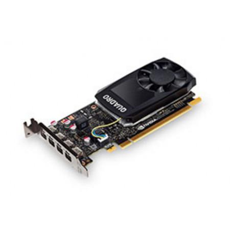 ThinkStation Nvidia Quadro P1000 4GB GDDR5 Mini DP * 4 Graphics Card with HP Bracket
