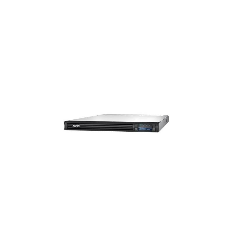 APC Smart-UPS 1500 LCD - UPS ( montável em bastidor ) - AC 230 V - 1000 Watt - 1500 VA - RS-232, USB - output connectors: 6 - 1U