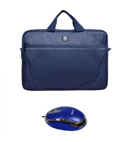 "Bundle Port_Designs Polaris II BLUE 15"" + Rato USB - 501732"