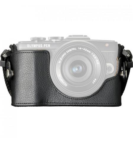 Estojo câmara Olympus CS-45B Leather Body E-PL7 - Preto (V601066BW000)