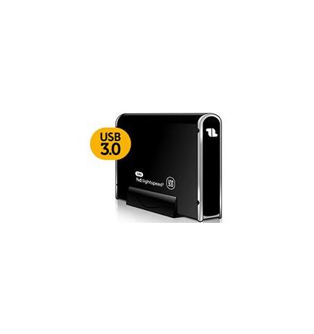 "Caixa Externa 1Life hd:lightspeed3 SATA 3.5"" - USB 3.0"