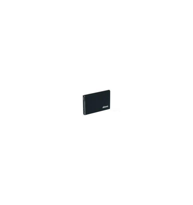 """Caixa Externa Akasa Elite S 2.5"""" USB 3.0 SATA/SSD em pele"""