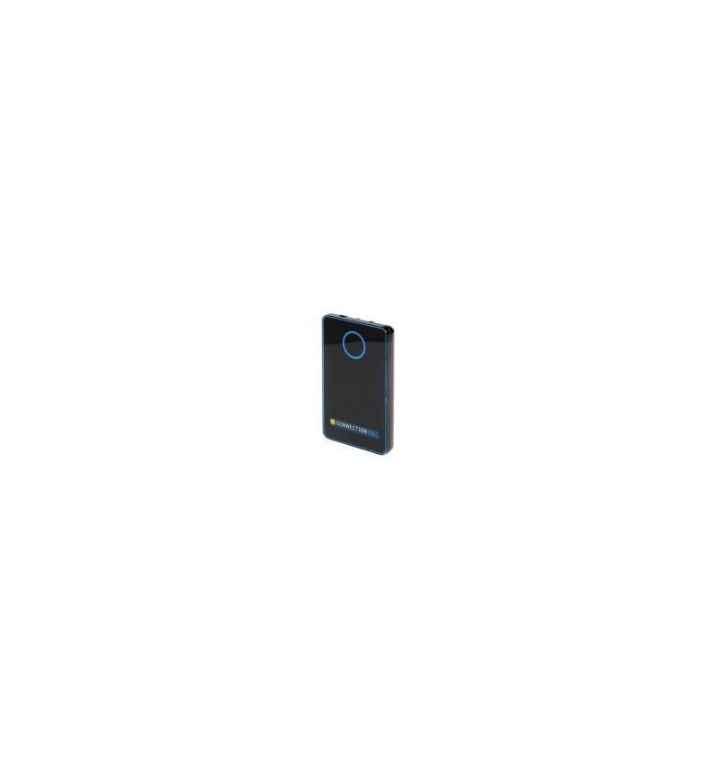 """Caixa Externa SATA/USB 2.5"""" alumínio negra"""