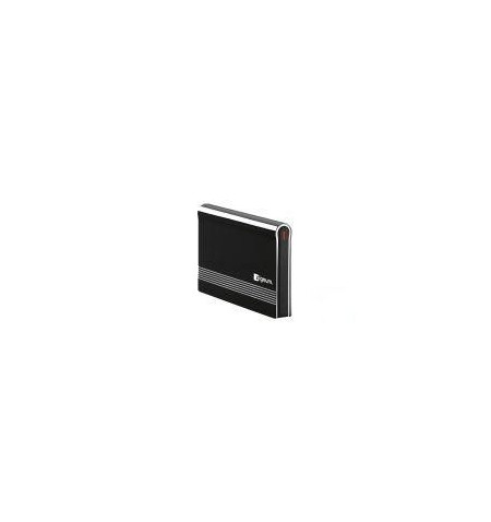 """Caixa Externa ZIGNUM USB 2.0, 2.5"""" SATA Alumínio/Preto"""