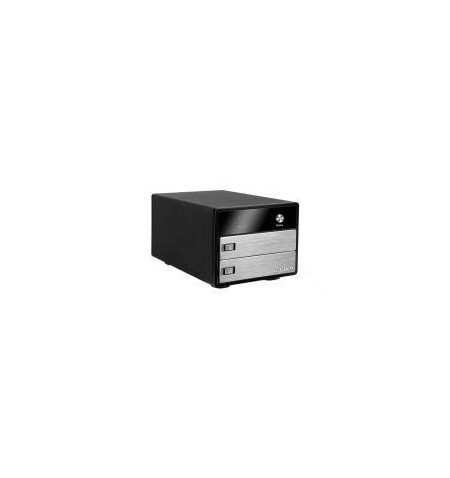 "Caixa Externa Icy Box para 2 discos 2.5"" SATA"
