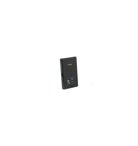"""Caixa Externa Icy Box 2.5"""" SATA USB 2.0 c/ leitor impressão digital preto"""