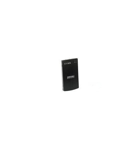 """Caixa Externa Icy Box 2.5"""" SATA USB 2.0 preta - RDS 1058"""