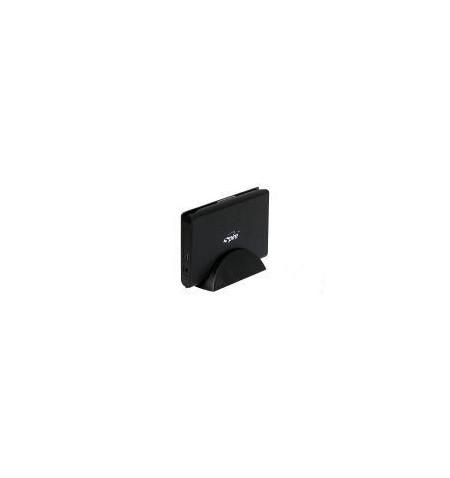 """Caixa Externa Spire 2.5"""" HandyBook SATA USB 2.0 preta"""