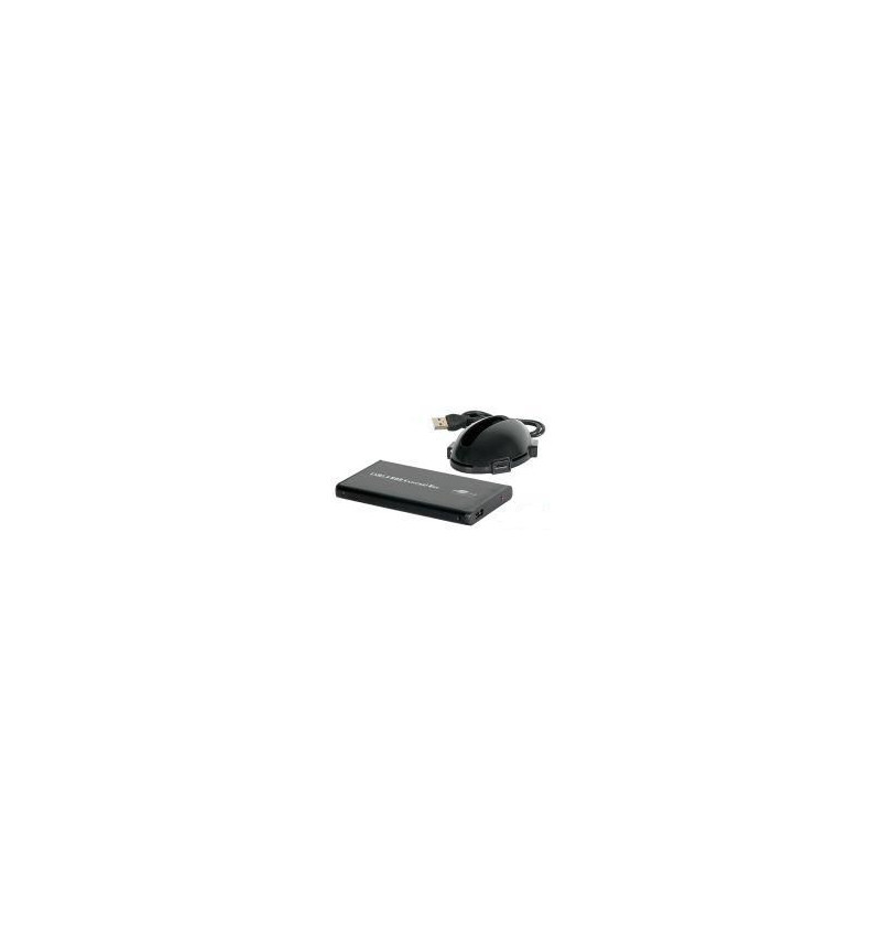 """Caixa Externa 2.5"""" SATA com Docking Station e leitor de cartões"""