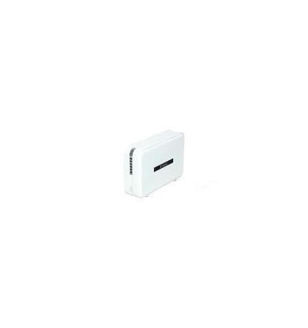 "Caixa Externa Fantec 3.5"" alumínio 2 x SATA USB 2.0 RAID 0/1/JBOD Branco"