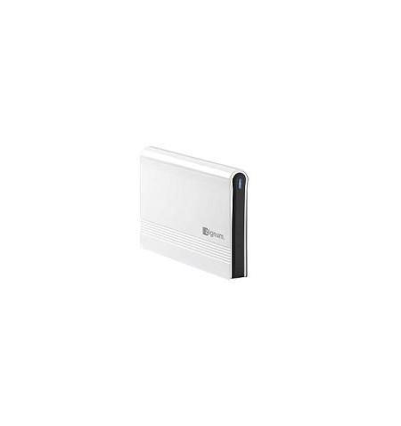 "Caixa Externa ZIGNUM USB 2.0, 3.5"" SATA Aluminio branco"