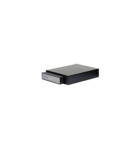 """Caixa Externa Icy Box 3.5"""" SATA USB2.0+E–SATA com Docking Station negra"""