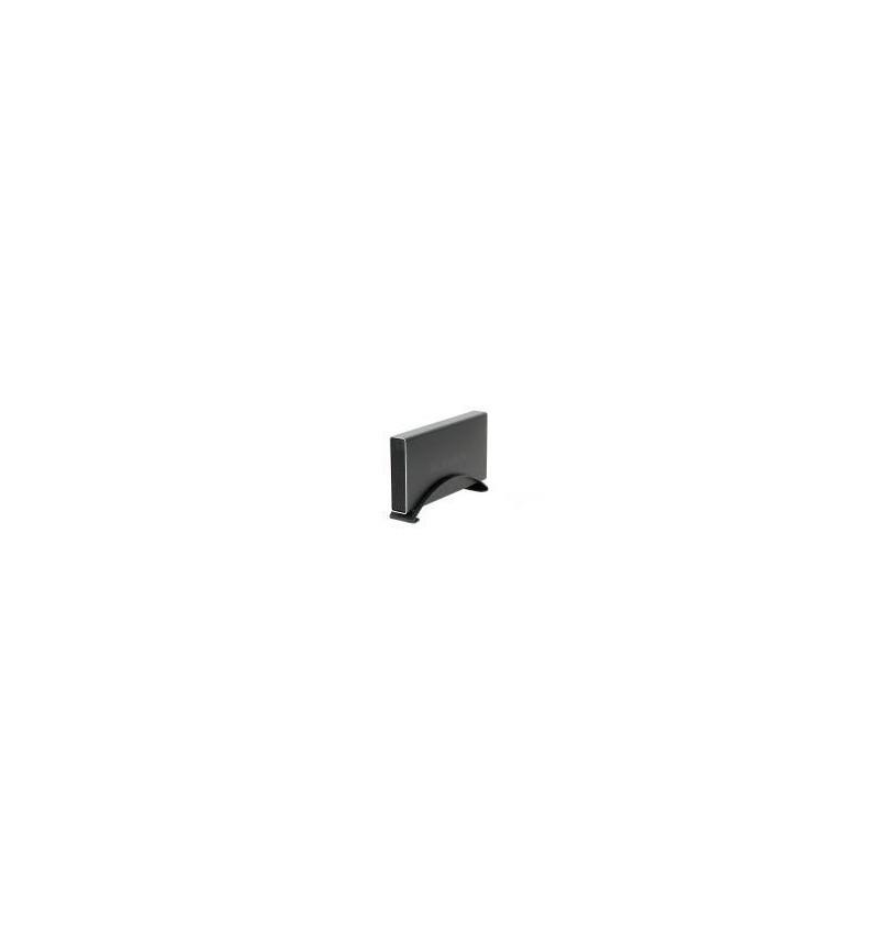 """Caixa Externa Icy Box 3.5"""" SATA alumínio USB 3.0 negra"""