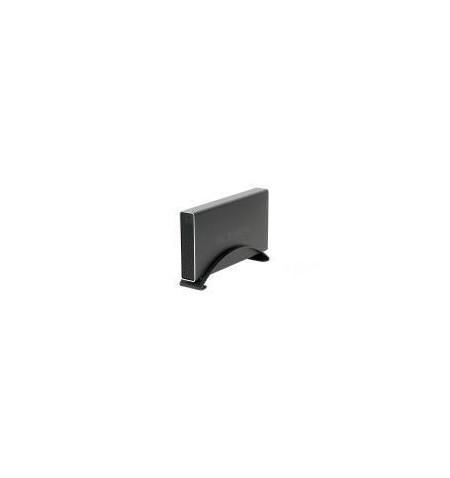 "Caixa Externa Icy Box 3.5"" SATA alumínio USB 3.0 preta"