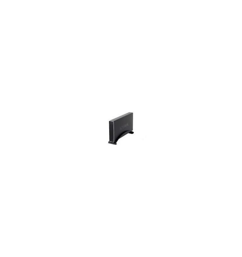 """Caixa Externa Icy Box alumínio 3.5"""" SATA c/ ligação E–SATA/USB negra"""
