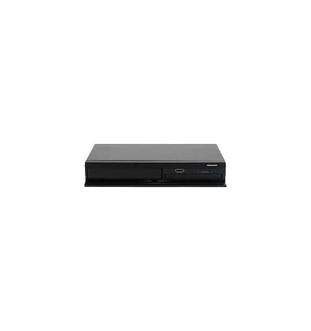 "Caixa Externa Sharkoon estilo Hi–Fi discos SATA 2.5/3.5"" leitor cartões USB 2.0 E–SATA"