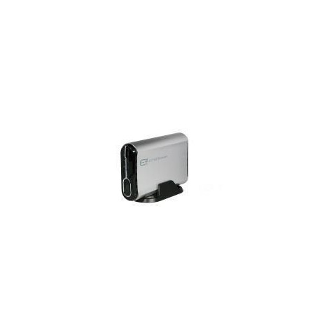"""Caixa Externa 3.5"""" E–SATA/USB para discos IDE/SATA com ventilador"""