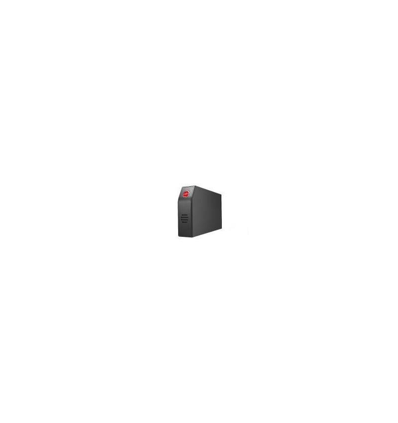 Caixa Externa Spire alumínio 3.5 SATA/USB com ventilação negra