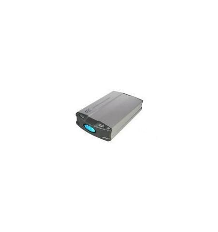 "Caixa Externa dispositivos IDE 3,5"" USB+FireWire LCD vent."