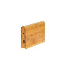 """Caixa Externa em madeira 2.5"""" USB–IDE"""