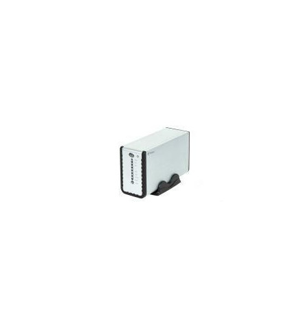 "Caixa Externa Fantec 3.5"" NAS SATA USB 2.0/LAN"