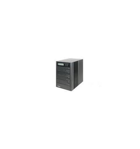 "Caixa Externa SOHO 4xSATA 3.5"" alumínio RAID0, 0+1, 5/5+suplente"