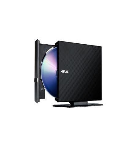 Drive Asus SDRW-08D2S-U LITE USB 2.0 Black - 90-DQ0435-UA221KZ
