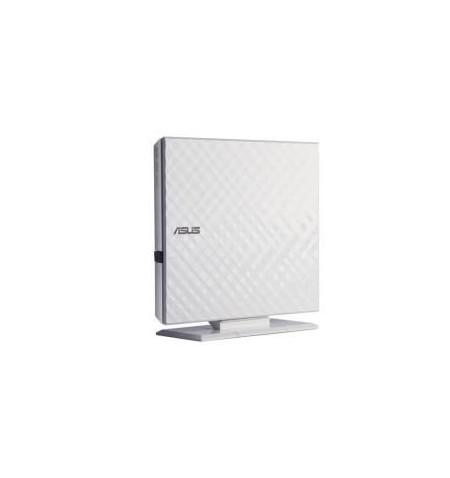 Drive Asus SDRW-08D2S-U LITE USB 2.0 White - 90-DQ0436-UA221KZ