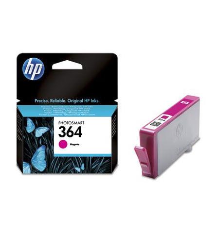 Tinteiro Original HP 364 Magenta