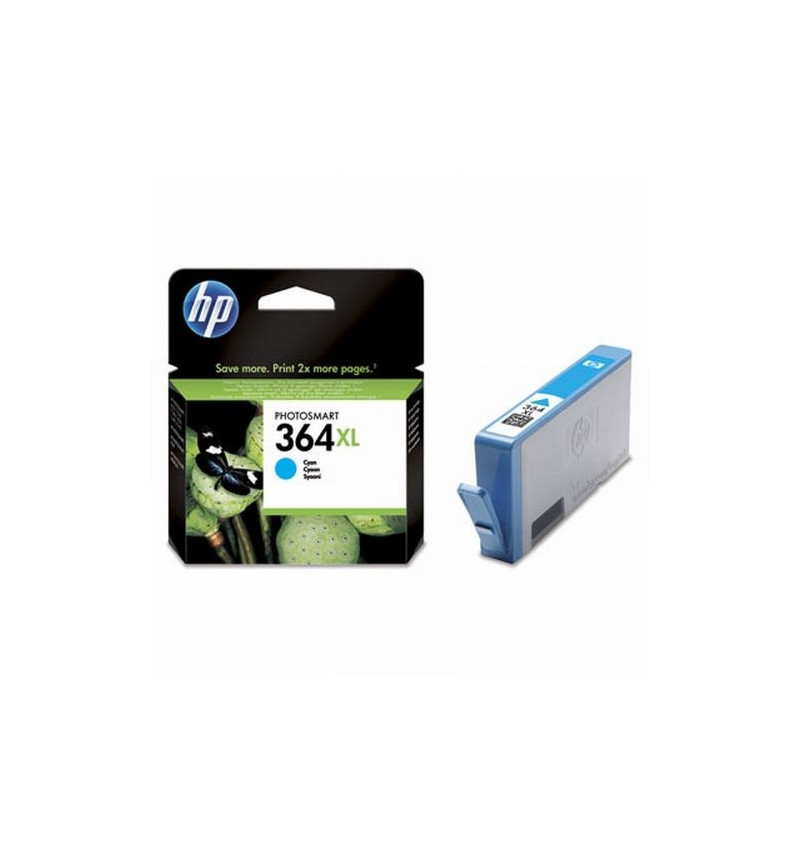 Tinteiro Original HP 364XL Cyan