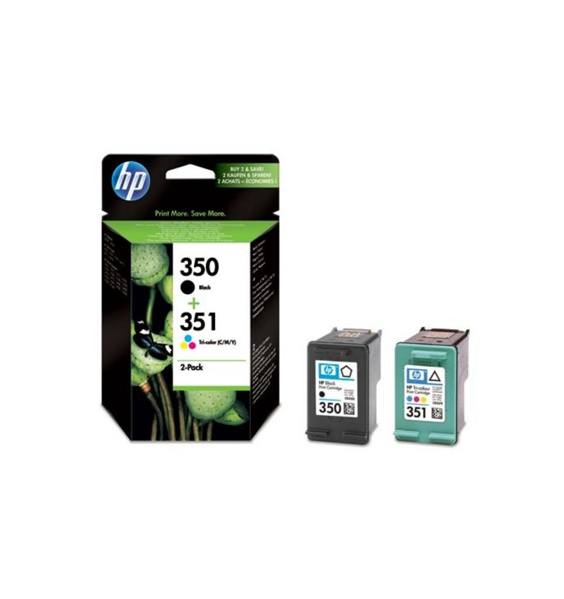 Tinteiro Original HP 350/351 Combo-pack