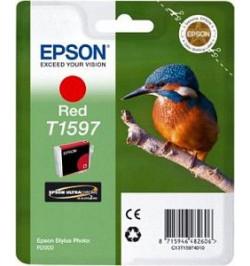 Tinteiro Original Epson Stylus Photo R2000 - Vermelho