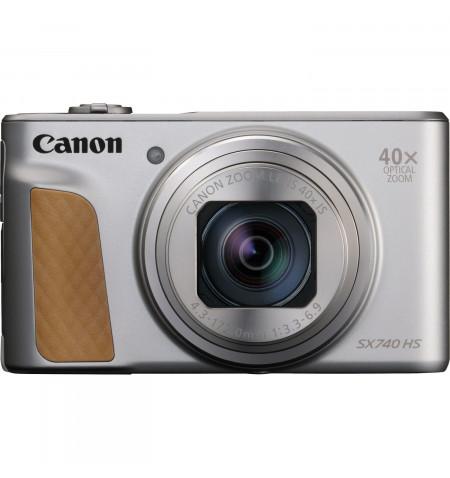 Canon PowerShot SX740 HS Silver - Sensor CMOS de 20,3 Mpx - 2956C002AA