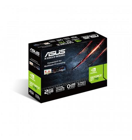 GT710-SL-2GB DDR5 com bracket low profile